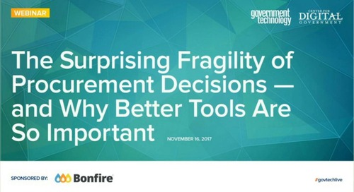 Webinar Encore | The Surprising Fragility of Procurement Decisions
