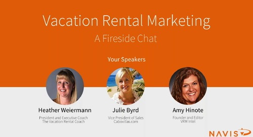 Webinar: Vacation Rental Marketing - A Fireside Chat
