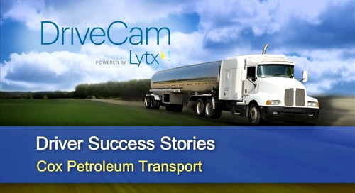 Why One Driver at Cox Petroleum Says Lytx Helped Save His Career