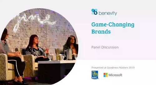 Panel - Game Changing Brands-