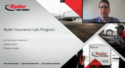 Insurance Partner Symposium Keynote Address - Ryder