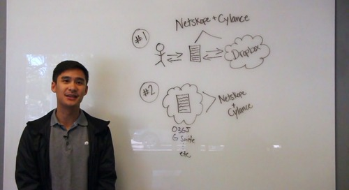 Smart Cloud Sessions: Threat Protection with Netskope and Cylance