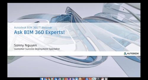 Ask BIM 360 experts!