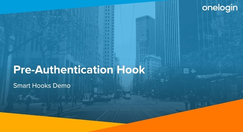 Smart Hooks: Pre-Authentication Hook Demo