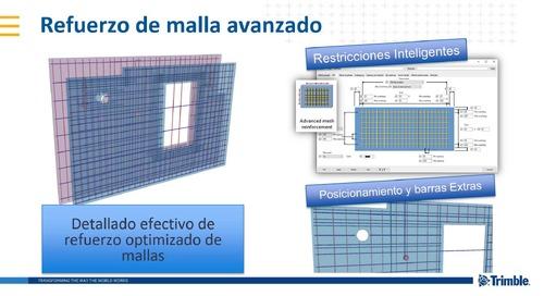 ¿Qué hay de nuevo en Tekla Structures 2019i para Concreto?