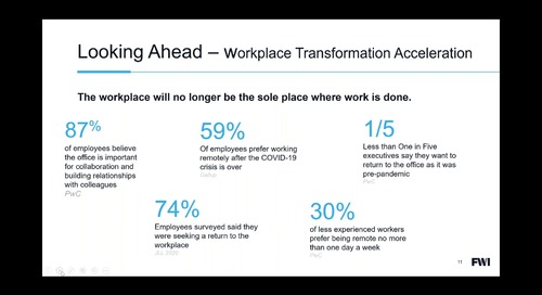 Webinar—Your Workplace is Evolving Into a Venue for Collaboration