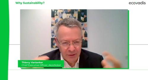 Tres razones para adoptar la sostenibilidad Según el director ejecutivo de AkzoNobel