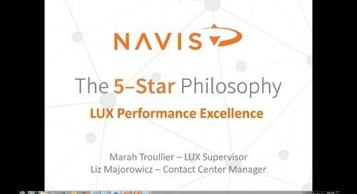 NAVIS Performance Webinar Series: 5-Star Philosophies in Reservations