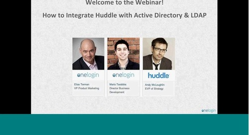Integrate Huddle With Active Directory & LDAP
