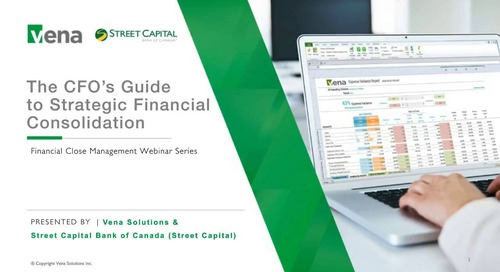 The CFO's Guide to Strategic Financial Consolidation