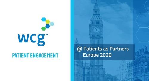 WCG Patient Engagement