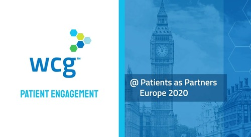 WCG Patient Engagement