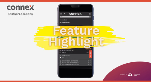 CONNEX Feature Highlight | Status/Locations Tab