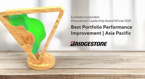 Emilio Tiberio COO and CTO, Bridgestone EMIA, Best Portfolio Performance Improvement, APAC