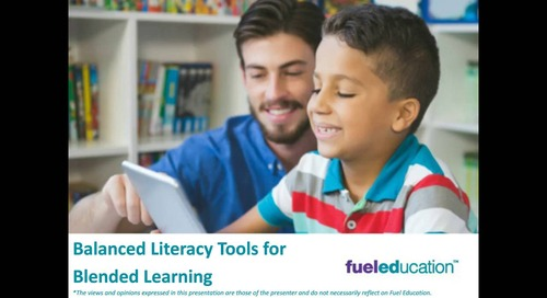 Webinar: Balanced Literacy Tools for Blended Learning