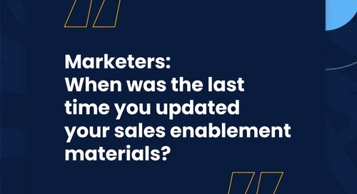The Roof S2: To Marketers, With Love From Sales Enablement