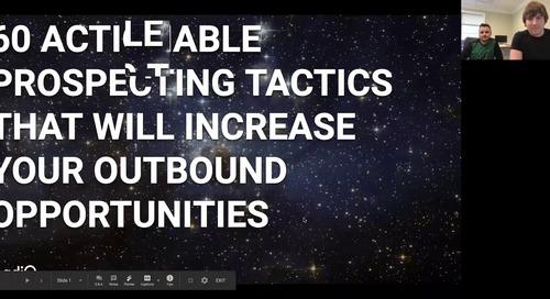 60 Actionable Prospecting Tactics