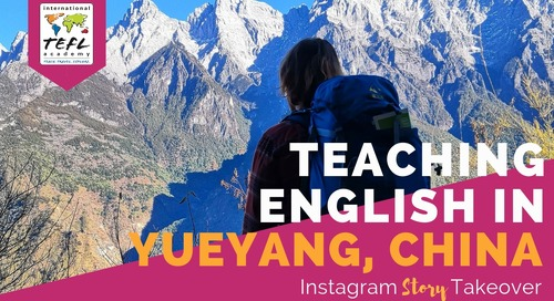 Day in the Life Teaching English in Yueyang, China with Cameron Tatanish