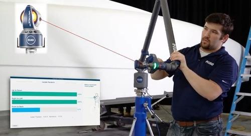 Cómo realizar mediciones detalladas en piezas y ensamblajes grandes