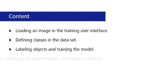 ZEISS Intellesis Module – How to train a model for segmentation [Archived on December 8, 2017]