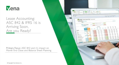 Lease Accounting: ASC 842 & IFRS 16 is Arriving Soon, Are you Ready?