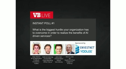 On-Demand Webinar: AI - The Key to Creating a Next Gen Banking Experience