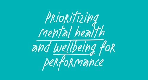 What's the real impact of employee mental health on performance