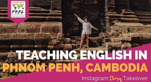 Day in the Life Teaching English in Phnom Penh, Cambodia with MaShayla Hern