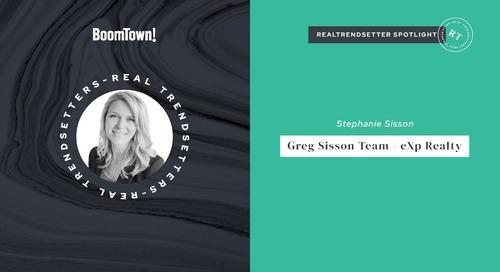 RealTrendsetter Spotlight! The Greg Sission Team