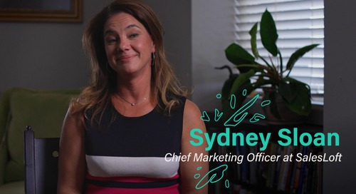 My Major F-Up - Sydney Sloan, CMO of Salesloft