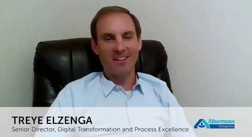 Enabling Business-Focused Solutions with RPA: The Albertson's Journey