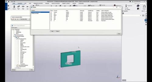 Custom Component -perusteet