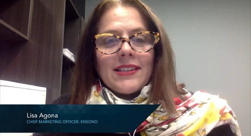 Ensono Customer Experience - Lisa Agona, CMO