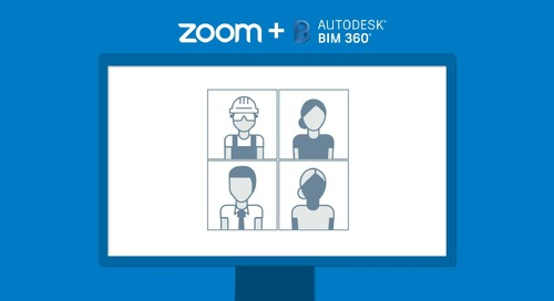 Zoom Integration with BIM 360 Meetings