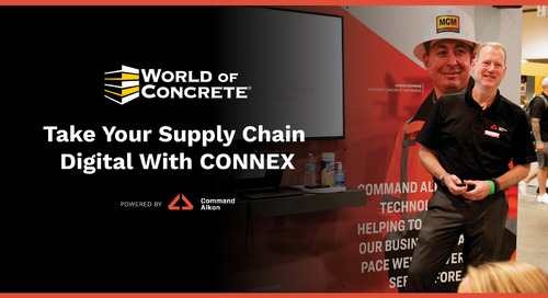 Take Your Supply Chain Digital with CONNEX | World of Concrete 2021