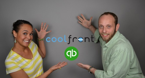 QuickBooks & Coolfront [Part 1 of 3]