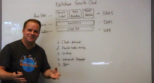 Smart Cloud Sessions: The Netskope Security Cloud
