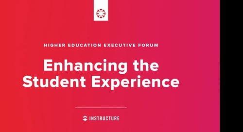 Executive Forum: Enhancing the Student Experience
