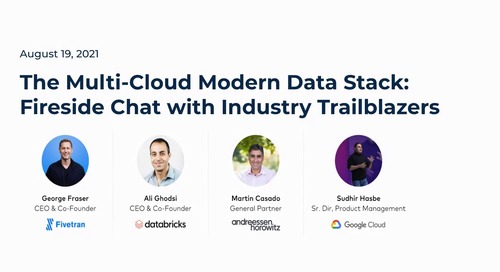 The Multi-Cloud Modern Data Stack: Fireside Chat with Industry Trailblazers