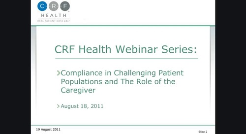 Compliance in Challenging Patient Populations and the Role of the Caregiver