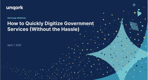 How to Quickly Digitize Government Services (Without the Hassle)
