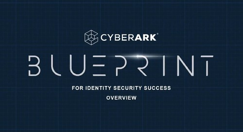 Intro to Blueprint for Identity Security Success