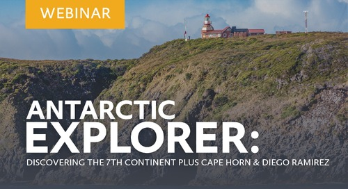 """Learn about our """"Antarctic Explorer: Discovering the 7th Continent plus Cape Horn and Diego Ramirez"""" voyage with Carlos Ramirez"""