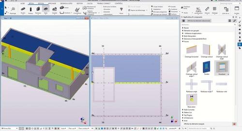 Réalisation des plans de coffrage avec Tekla Structures