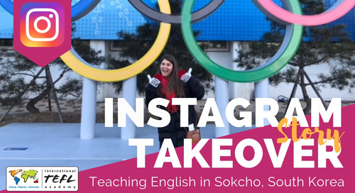 Day in the Life Teaching English in Sokcho, South Korea with Meghan Tankersley