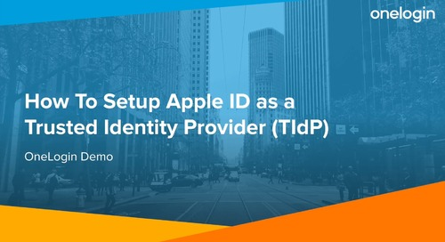 Demo - How To Set up Apple ID as a TIdP