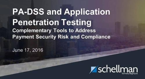 PA-DSS vs App Testing