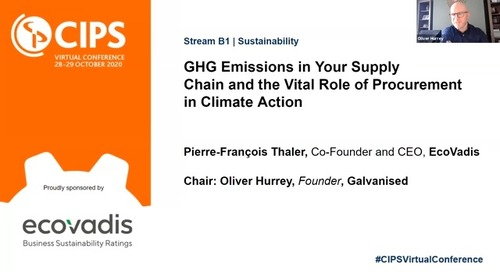 [CIPS] GHG Emissions in Your Supply Chain & the Vital Role of Procurement in Climate Action