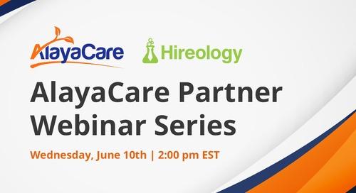 Hireology - AlayaCare Partner Webinar