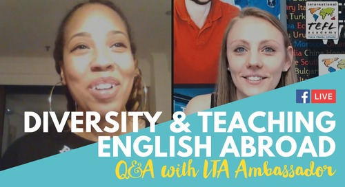 Diversity & Teaching English Abroad in Colombia & China Q&A with Jessica Stanton